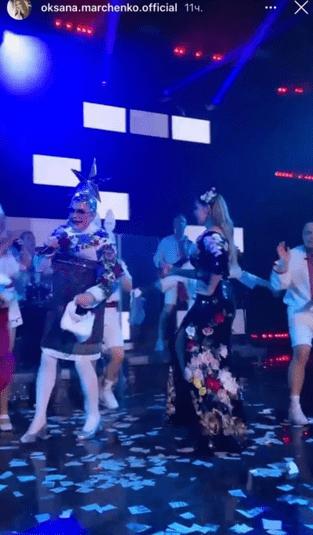 Винник, Лобода і Сердючка розважали гостей на весіллі сина Марченко