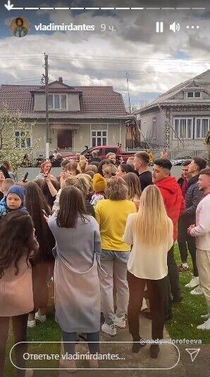 Дорофєєву у Попельниках зустрічало все село