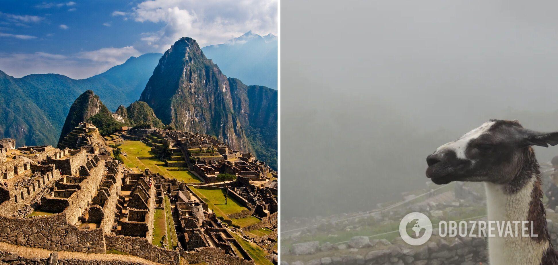 Місто інків Мачу-Пікчу сьогодні затуманене